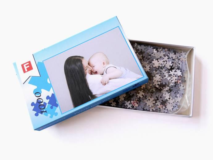 Fotopuzzel 48x68 cm met 1000 stukjes in doos
