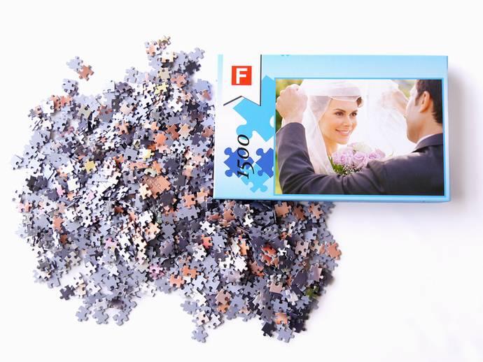 Fotopuzzel met 1500 puzzelstukjes en luxe doos